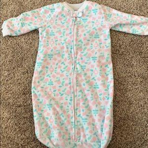 Fleece 0-9 month sleep sack!